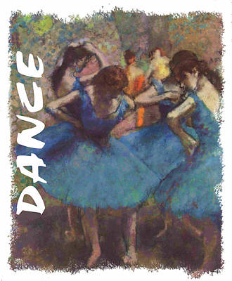 Ballet Painting - Dance By Degas by Philip Ralley