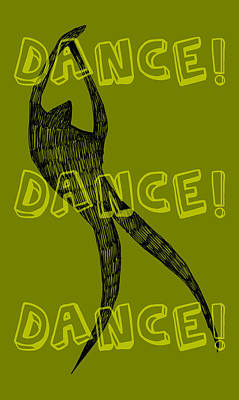 Dance Dance Dance Print by Michelle Calkins