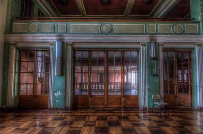 Ballroom Digital Art - Dance Doors by Nathan Wright