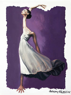 Jazz Digital Art - Dance For Him by Anthony Falbo