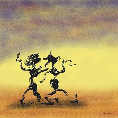 Mixed Media - Dance I by Manuel Sueess