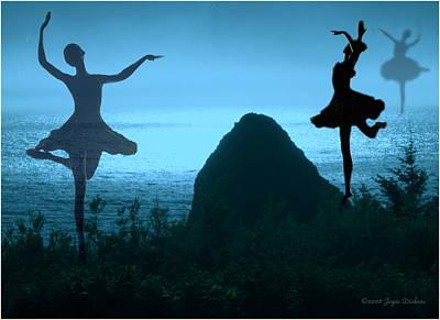 Dance Of The Sea Print by Joyce Dickens