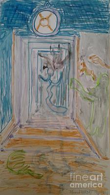 Painting - Dance On The Door Of Heritage  by Mourad HARKAT