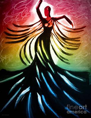 Dancer 3 Print by Anita Lewis
