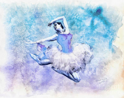 Mo Artist Painting - Dancer by Mo T