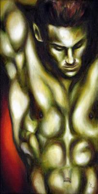 Sexy Painting - Dancer One by Hiroko Sakai