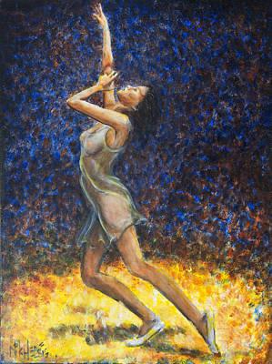 Dancer X Print by Nik Helbig