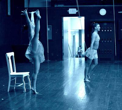 Dancers And Little Watchers Print by Jon Van Gilder
