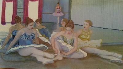 Dancers Take Five Print by ARTography by Pamela Smale Williams