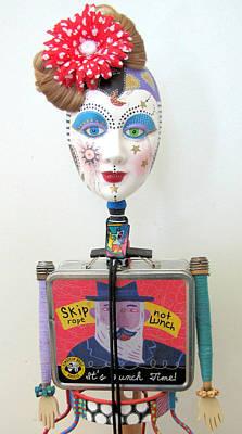 Dances To Her Own Beat Print by Keri Joy Colestock