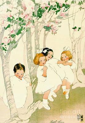Dancing Children 1913 Print by Padre Art