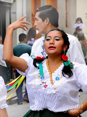 Troupe Photograph - Dancing For Jesus' Birthday by Al Bourassa