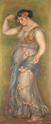 Pierre-auguste Renoir Painting - Dancing Girl With Castanets by Pierre-Auguste Renoir