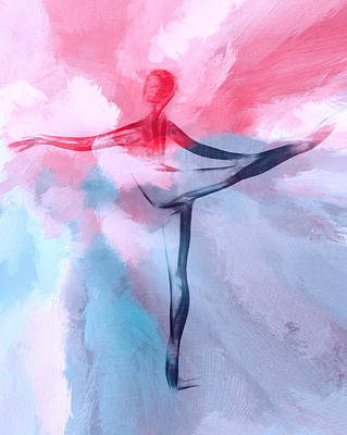 Dancing In Heaven Print by Steve K