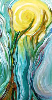 Dancing In Moonlight Print by Amy Drago