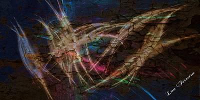 Dancing Lights Print by Louis Ferreira
