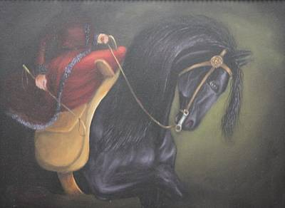 High Side Painting - Dancing  Proud by Lou Magoncia