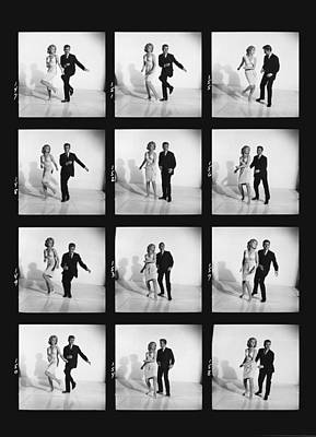 Ability Photograph - Dancing The Twist by Underwood Archives