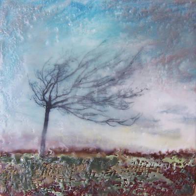 Dancing Tree Print by Victoria Primicias