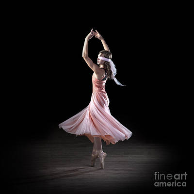 Daydreams Art Photograph - Dancing With Closed Eyes by Cindy Singleton