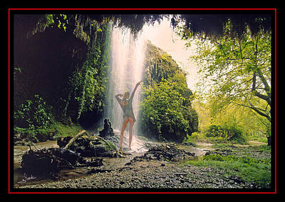 Nude Photograph - Dancing With Waterfalls by George Rossidis