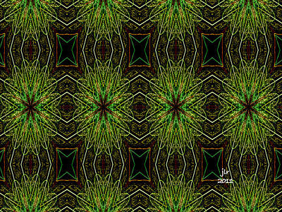 Digital Art - Dandelion Wine by Janet Russell