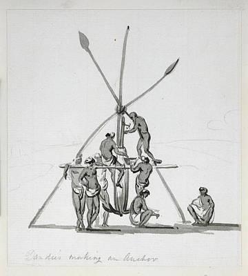 Dandies Making An Anchor Print by British Library