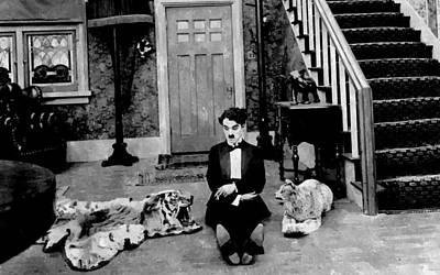 Actors Painting - Dandy Charlie Chaplin  by Florian Rodarte