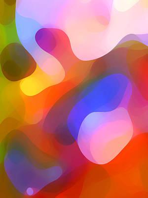 Abstract Shapes Digital Art - Dapples Light 2 by Amy Vangsgard