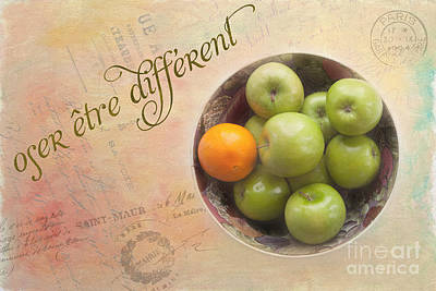 Dare To Be Different Print by Kay Pickens