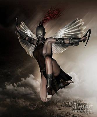 Dark Angel Print by Shanina Conway