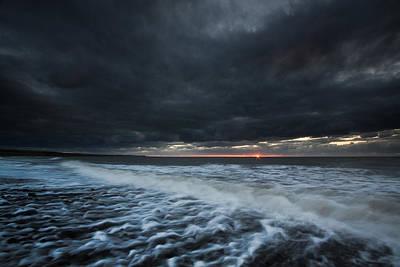 Izzy Photograph - Dark Dark Dark Sunset by Izzy Standbridge