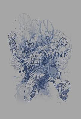 Dark Knight Rises Digital Art - Dark Knight Rises - Bane Character Study by Brand A