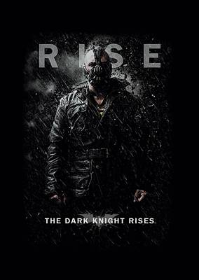 Dark Knight Rises Digital Art - Dark Knight Rises - Bane Rise by Brand A