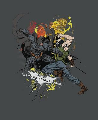Dark Knight Rises Digital Art - Dark Knight Rises - Fight For Gotham by Brand A