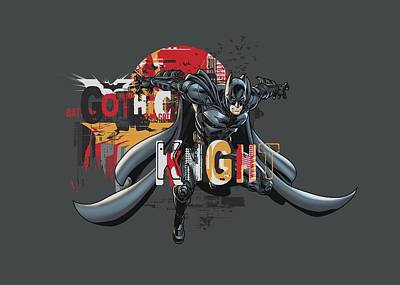 Dark Knight Rises Digital Art - Dark Knight Rises - Gothic Knight by Brand A