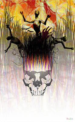 Dark Meadow Print by Matt Lindley