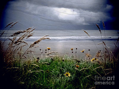 Dark Outlook Print by Karen Lewis