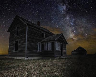 Milky Way Digital Art - Dark Place by Aaron J Groen