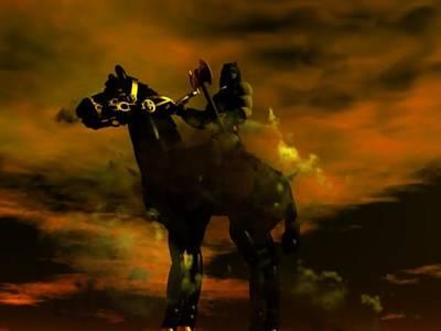 Bakshi Digital Art - Darkwolf by Enton Boothe