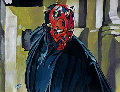 Darth Maul Print by Jeremy Moore