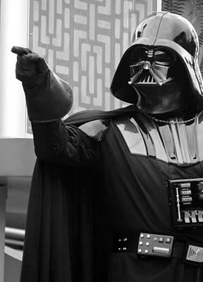 Return Of The Jedi Photograph - Darth Vader by Ramona Johnston