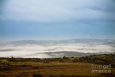 Dartmoor Mist Print by Jan Bickerton