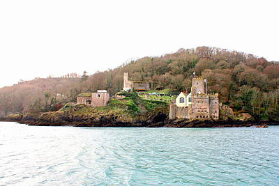 Dartmouth Castle And Church Print by Kevin F Cook