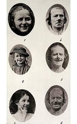 Darwin On Human Emotions Print by Paul D Stewart