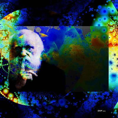 Charles Digital Art - Darwinism by Elizabeth McTaggart