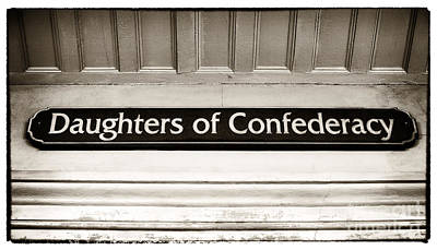 Daughters Of Confederacy Print by John Rizzuto