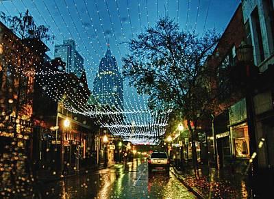 Dauphin Sreet Christmas Lights Original by Michael Thomas