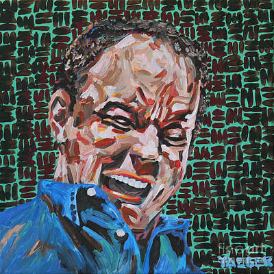 Saturday Night Live Painting - Dave Matthews Portrait by Robert Yaeger