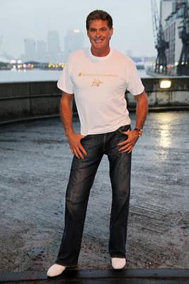 Jez Self Photograph - David Hasselhoff 2 by Jez C Self